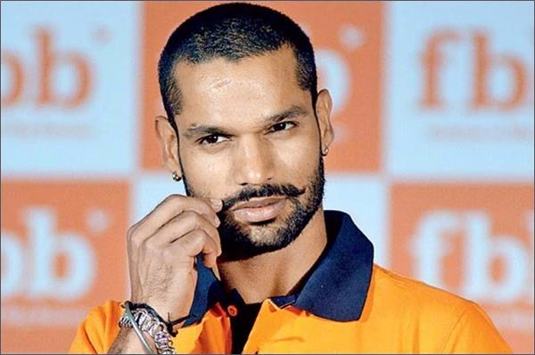 dhawan responds to pakistan  s   gabor style   during a tv show