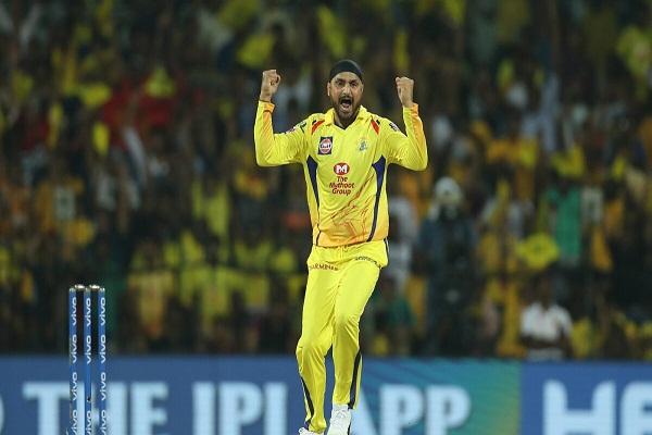 harbhajan who won the man of the match award