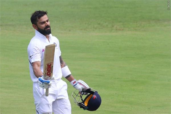 indian capt virat kohli hit the 26th test century and breaks many records