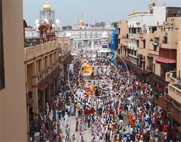 amritsar harmandir sahib nagar kirtan 12 hours