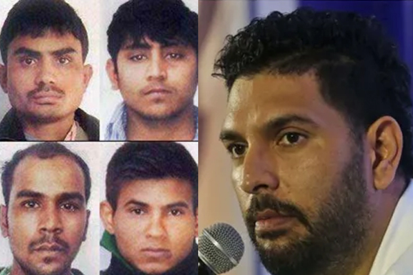 yuvraj expresses happiness over nirbhaya getting justice