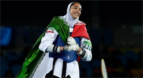 iran  s olympic medalist kimia decides to leave the country