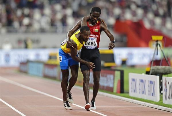 braima dabo help jonathan busby in athletics world championships