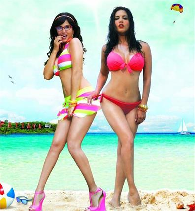 sunny leone heat twice over on the new poster of mastizaade