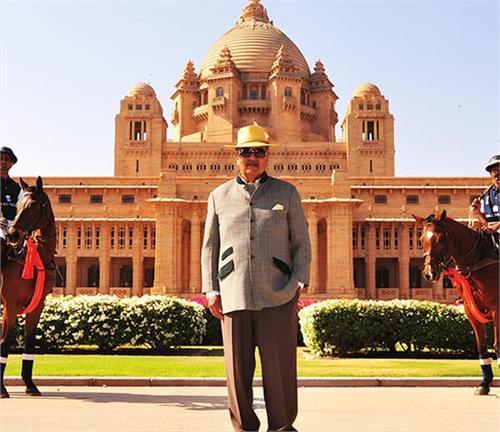 maharaja gaj singh luxury life