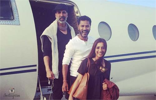 singh is taking blige nervous prabhudeva
