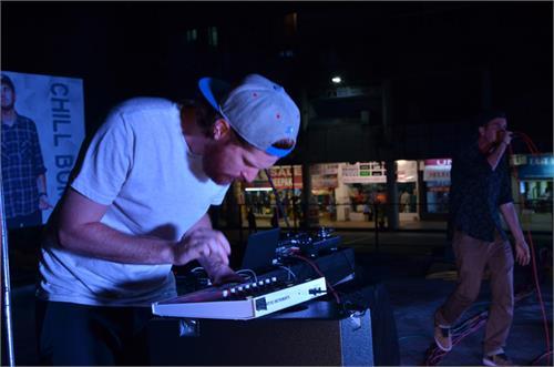 plaza musical night