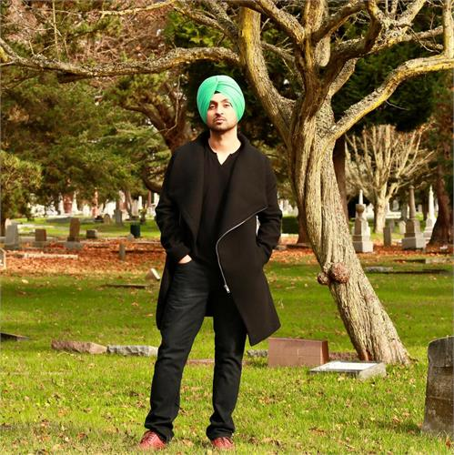 diljit gives his fans a surprise on facebook