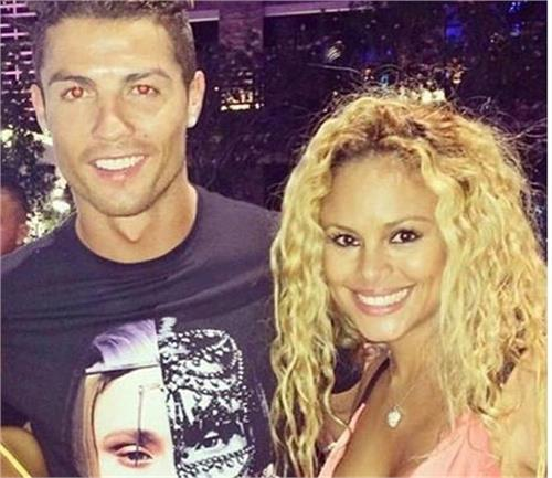 most have been dating the ex girlfriend of wealthy boxer ronaldo  pic