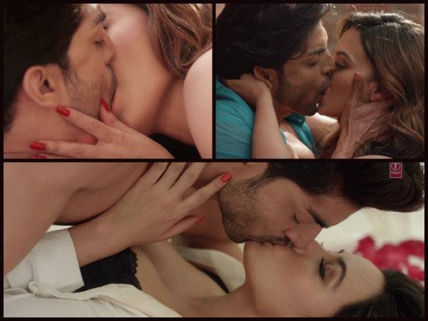 sana khan bold scenes in wajah tum ho