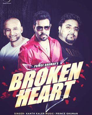 kanth kaler s single track broken heart release