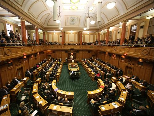 new zealand parliament security