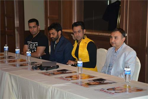 gippy grewal in surrey for the promotion of kaptaan