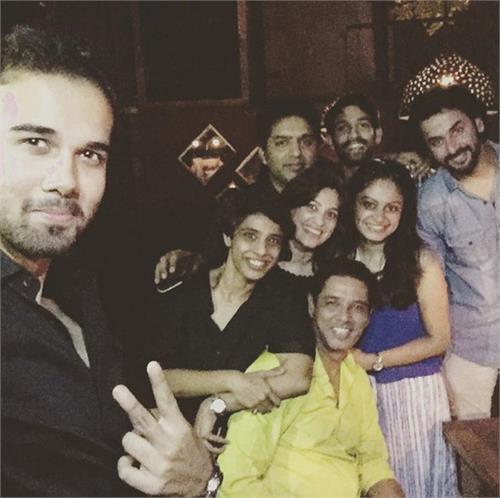 balika vadhu wrap up party