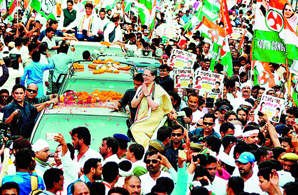 congress will be well with the road show of banaras