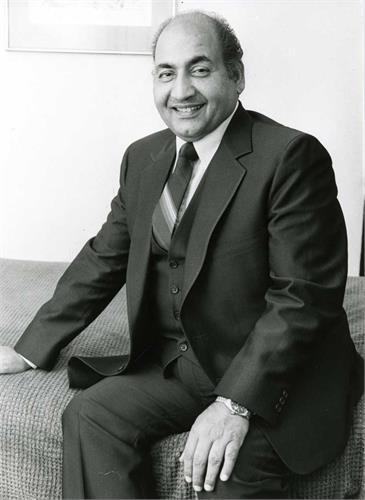 be remembered in his native village in punjab mohammad rafi