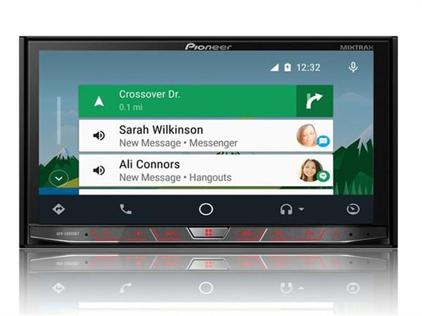 pioneer launch new car audio player