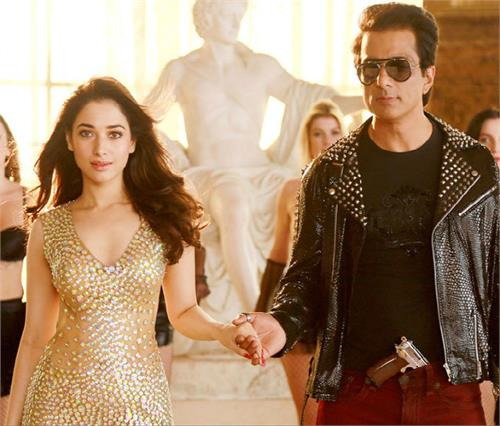 sonu sood happy with title song tutak tutak tutiya