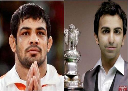 wrestler sushil kumar and snooker champion pankaj advani recommended for padma bhushan