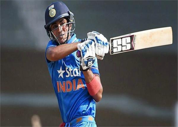 shubham got a chance to play in india a squad