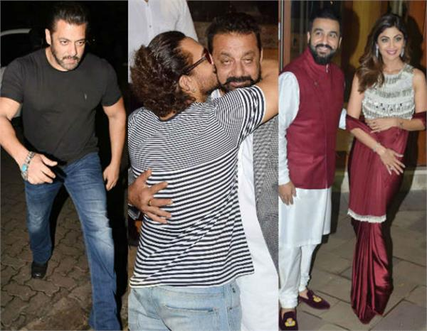sanjay dutt diwali party