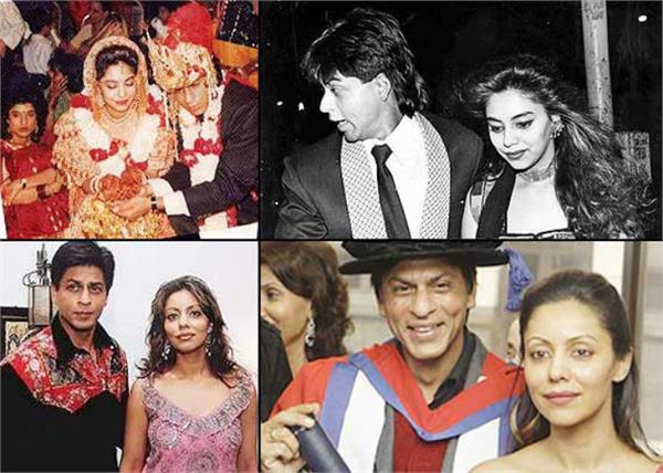 sharukh gauri khan marriage anniversary
