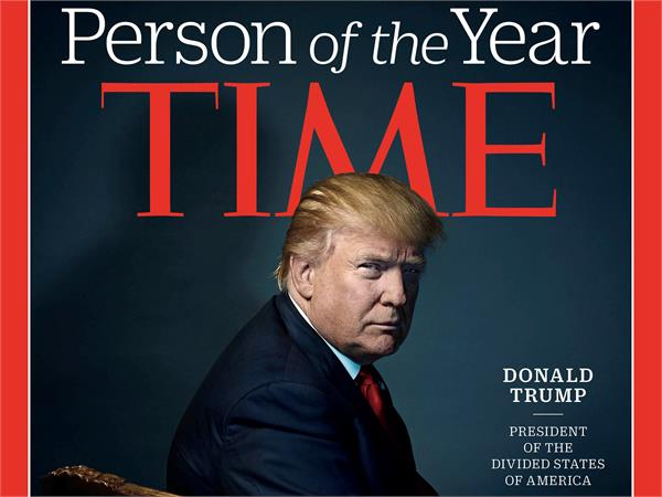 claim of a false trump about   person of the year