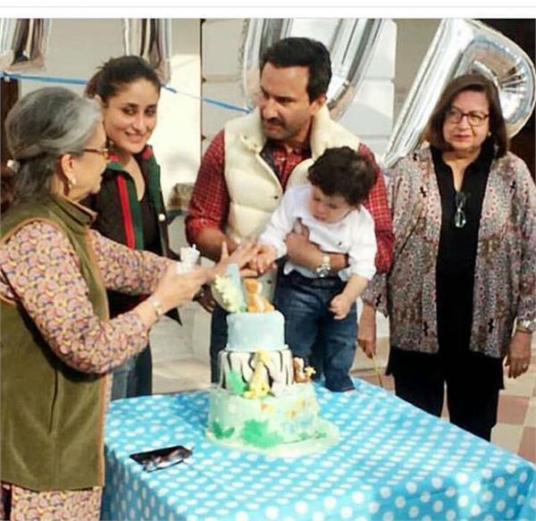 taimur ali khan birthday celebration