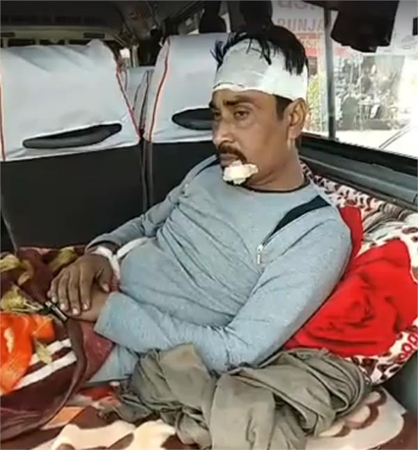 saleem team injured in a road accident