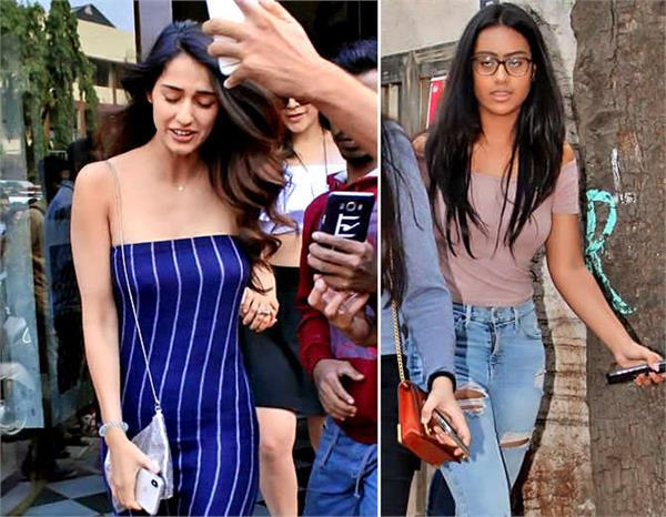 disha patani disturbed by fans and other celebs spotted