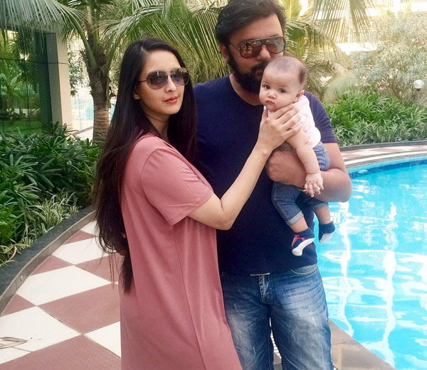 chahat khanna mirza share first pic of her daughter