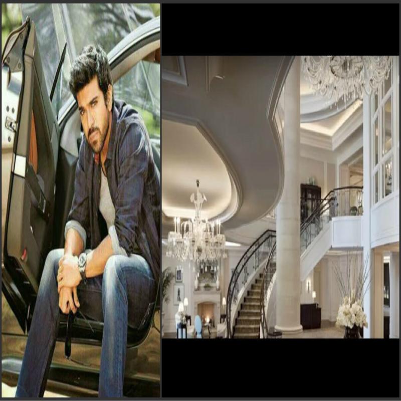 south indian superstar ram charan teja luxury house photo