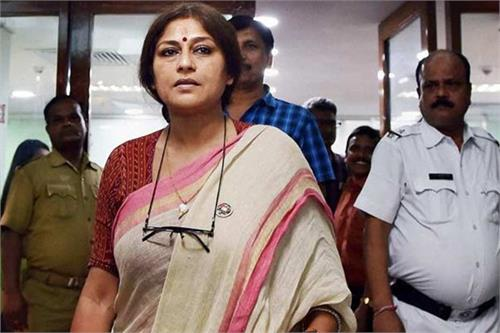 roopa ganguly become aggressive in trafficking cases