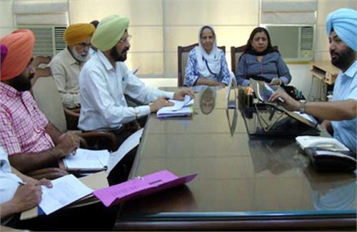 additional deputy commissioner reviewed wheat procurement arrangements