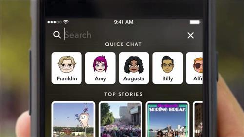 snapchat launches facebook and instagram collision launches story search feature