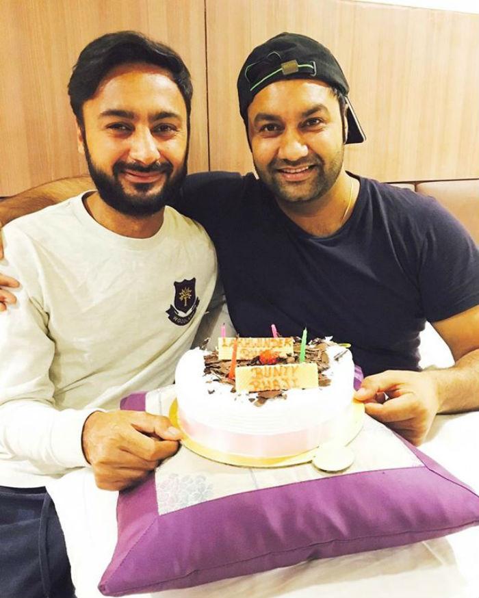 bunty bains and lakhwinder wadali celebrations birthday