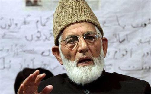 saeed ali shah geelani viral video police