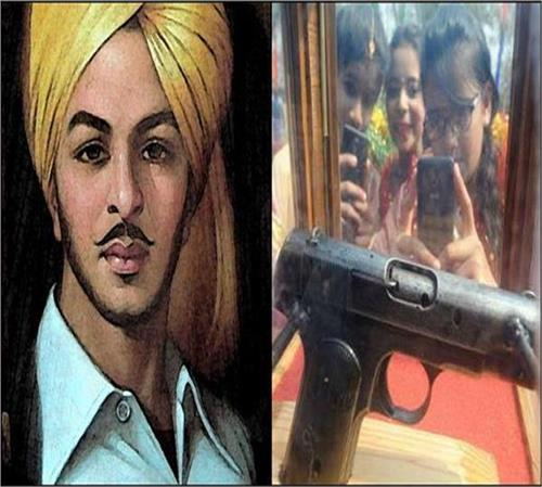 shaheed e azam bhagat singh  s pistol will be displayed soon in hussainiwala museum  video