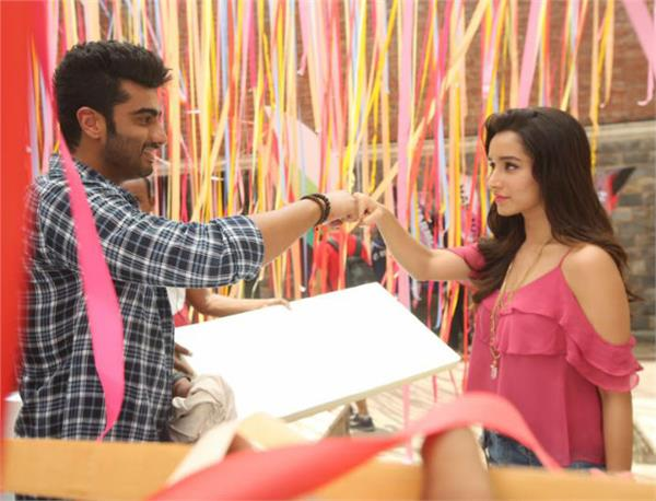 first day collection of   half girlfriend