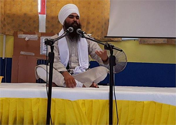 ceremony of bhai harjeet singh dhupali in italy