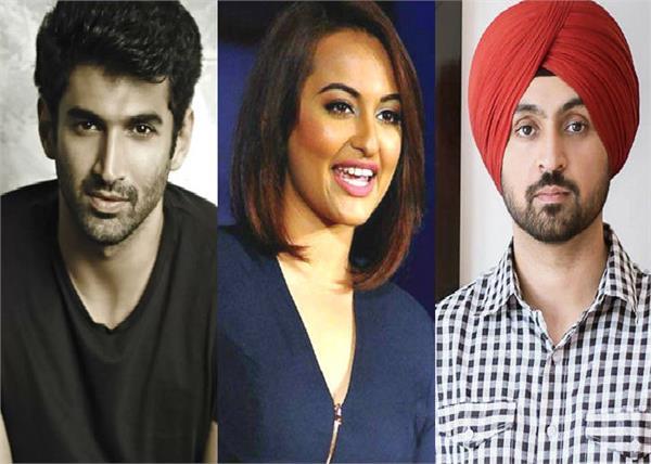 sonakshi  aditya roy kapur and diljit dosanjh to team up for a film