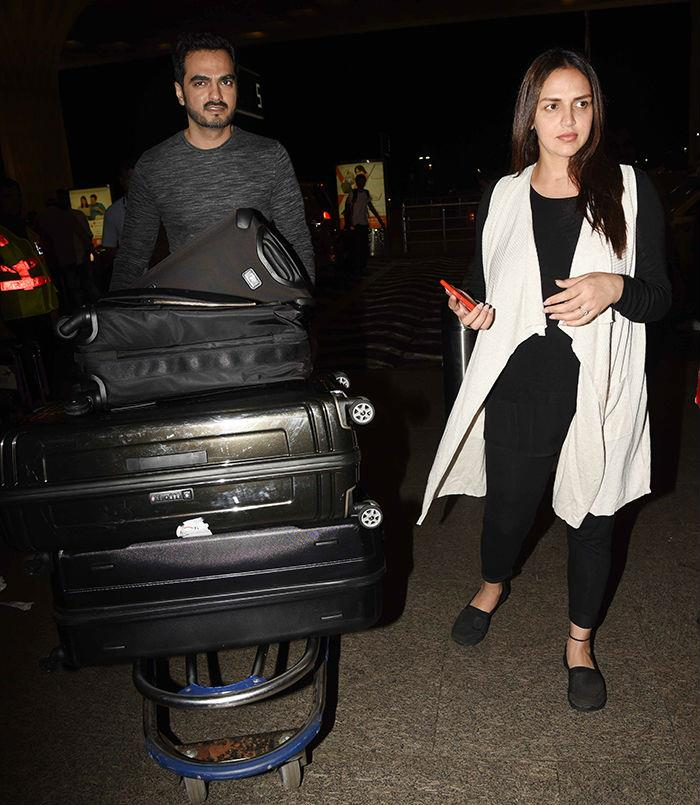 this is where mother to be esha deol has taken off for her babymoon