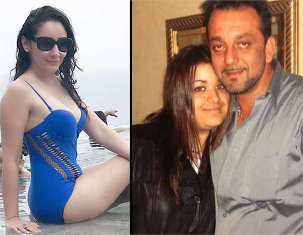 sanjay dutt daughter reaction on manyata pics