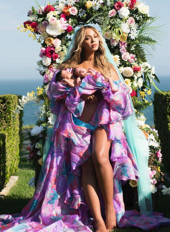 beyoncé mom tina knowles lawson gushes about twins