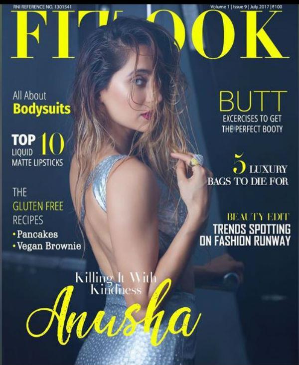 anusha dandekar bold photoshoot