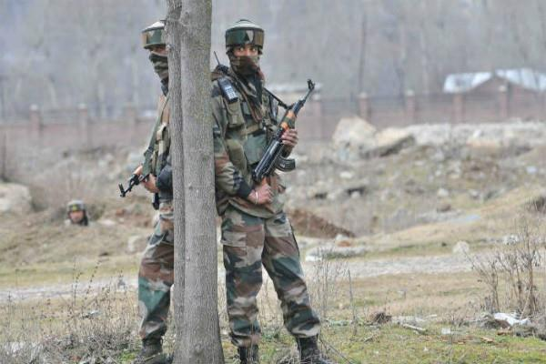 encounter underway between security forces and terrorists in uri