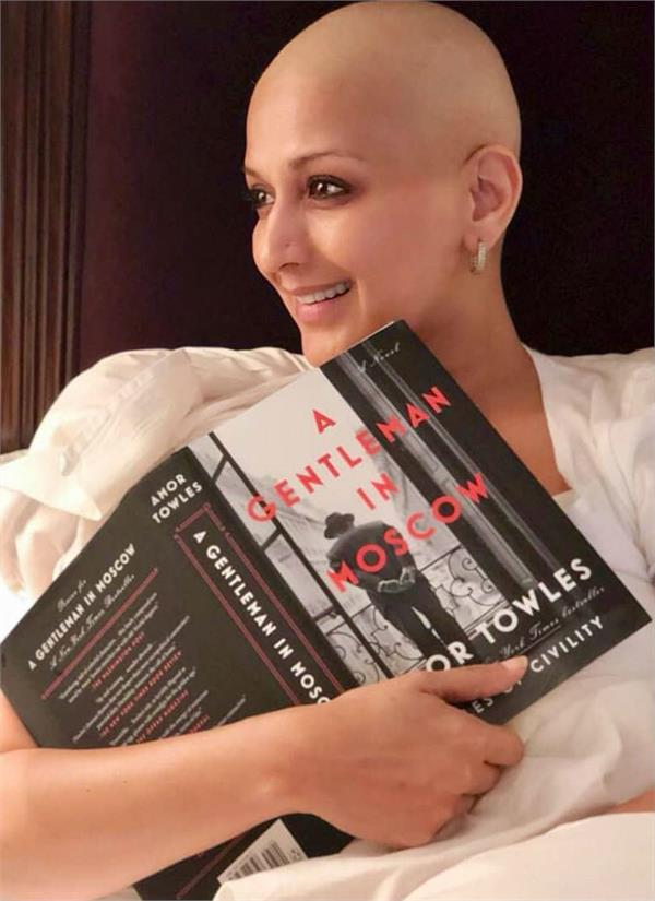 sonali bendre emotional message