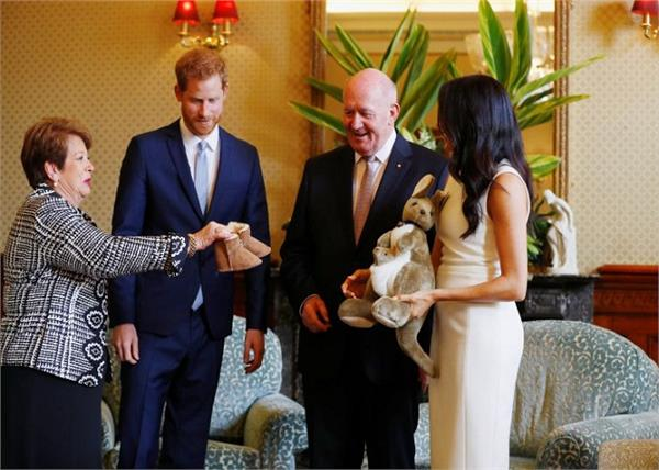 australia prince harry and meghan gifts