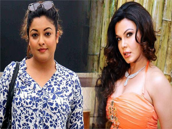 tanushree dutta and rakhi sawant