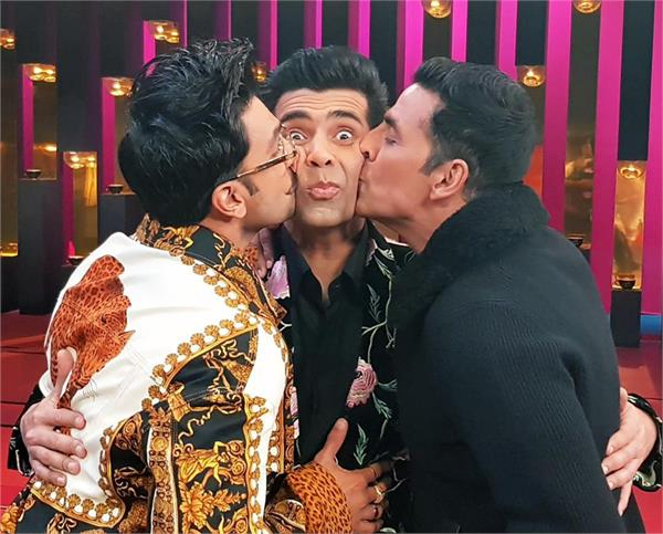 koffee with karan ranveer akshay